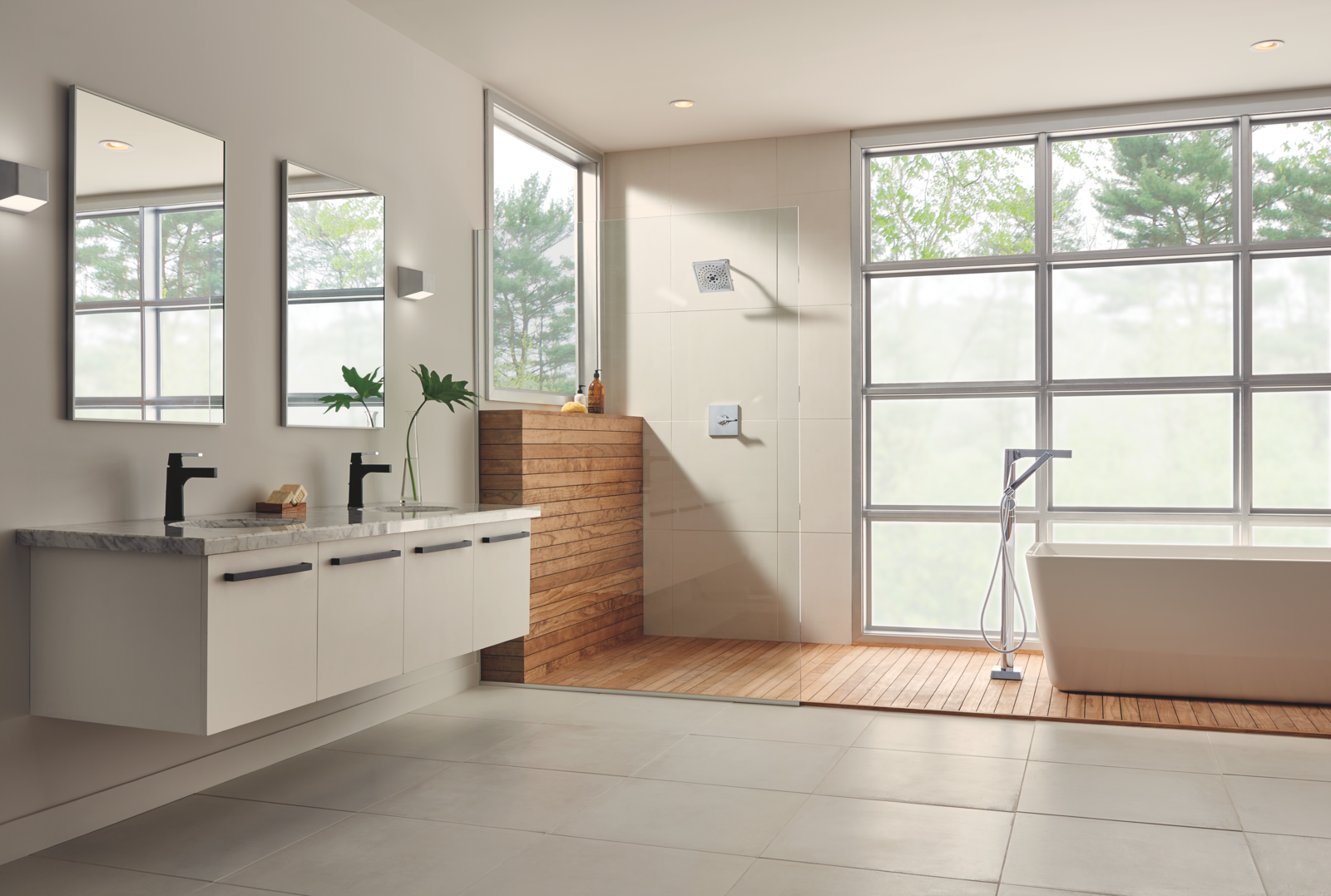 7 bathroom renovation ideas to rejuvenate your space dwell for Dwell bathroom designs
