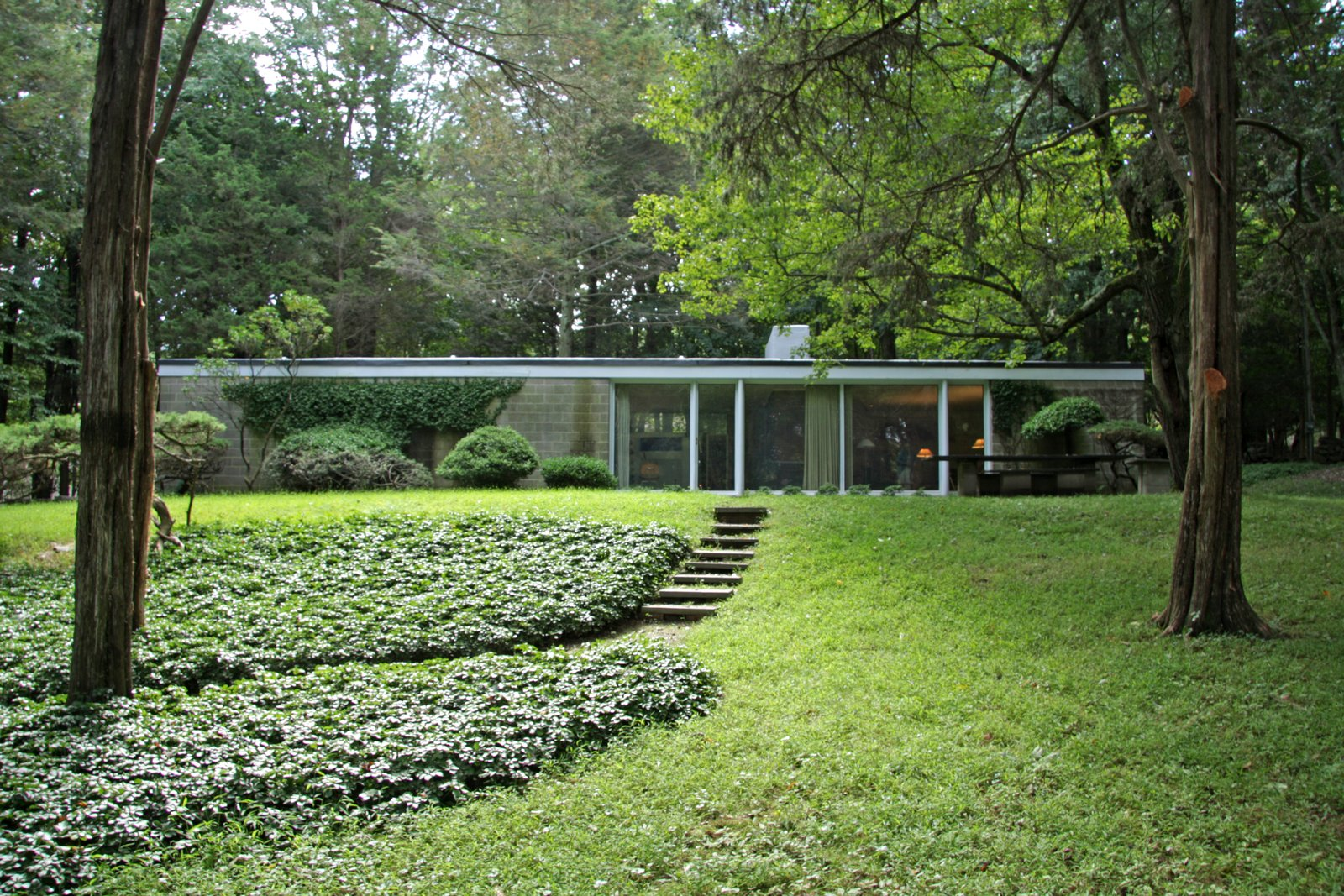 Photo 1 of 10 in With $1 Million, You Can Save Philip Johnson's First Commissioned House