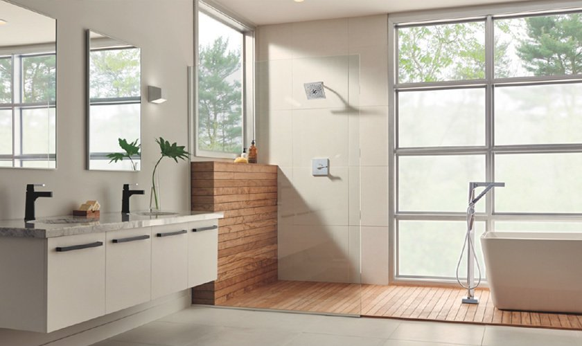 Photo 1 of 1 in Delta® Faucet Zura™ Bath Collection