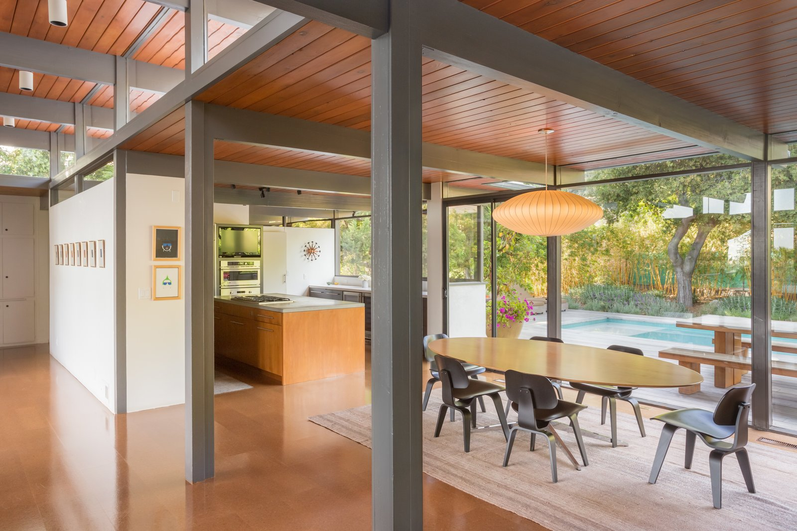 This Post-and-Beam in Pasadena Offers Classic California Living For $1.9M - Photo 4 of 12
