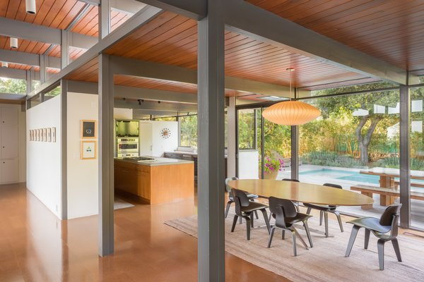 Photo 4 of Iconic Post & Beam Ranch modern home