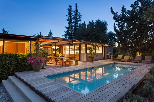 Photo 12 of Iconic Post & Beam Ranch modern home