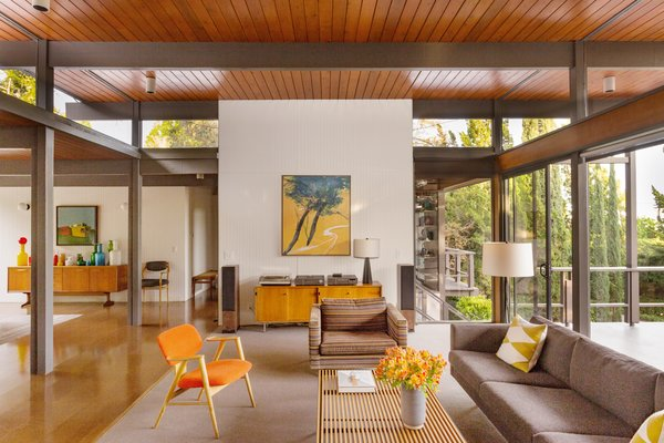 Photo 2 of Iconic Post & Beam Ranch modern home