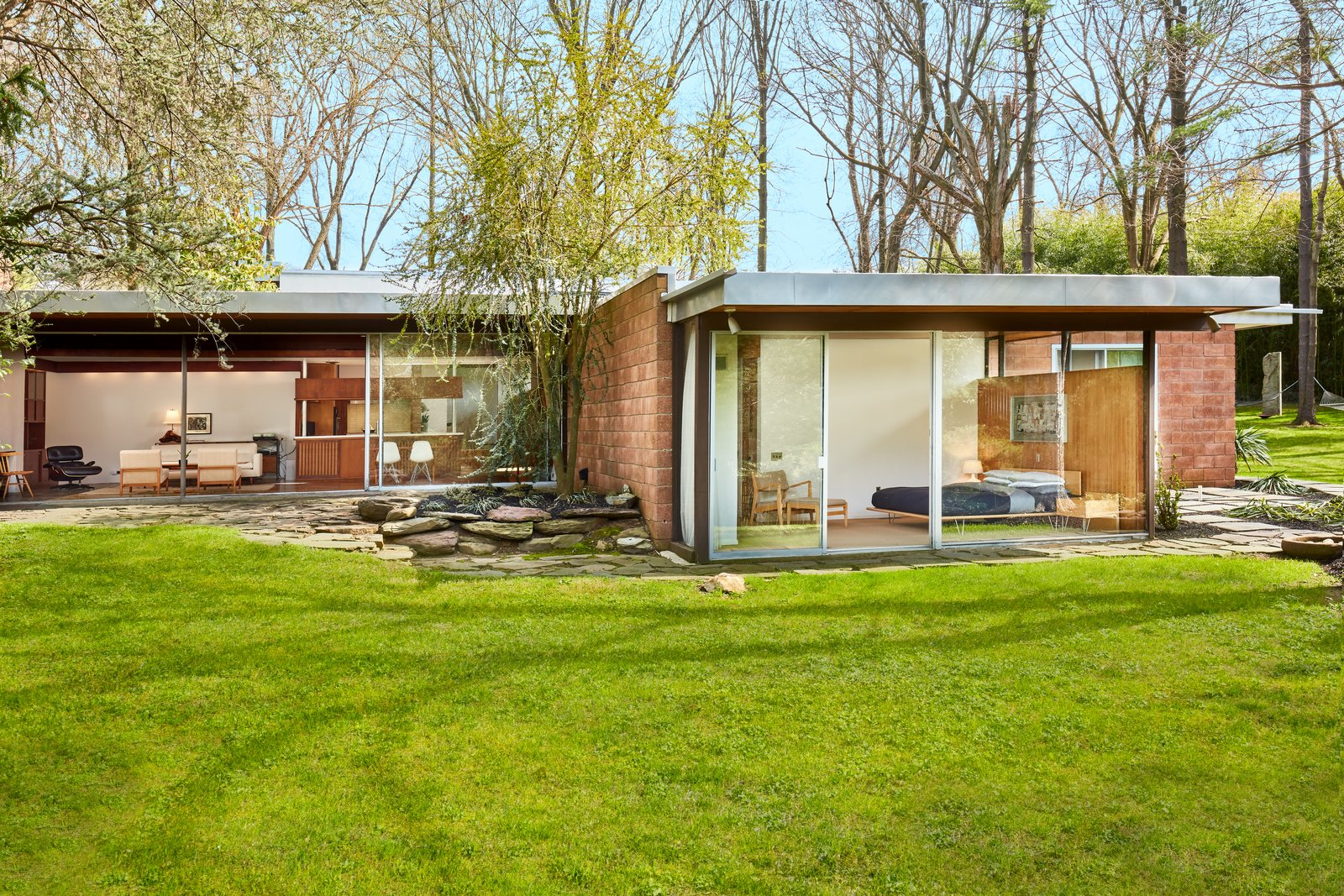 The stunningly restored hassrick residence by richard for Beautiful modern homes for sale