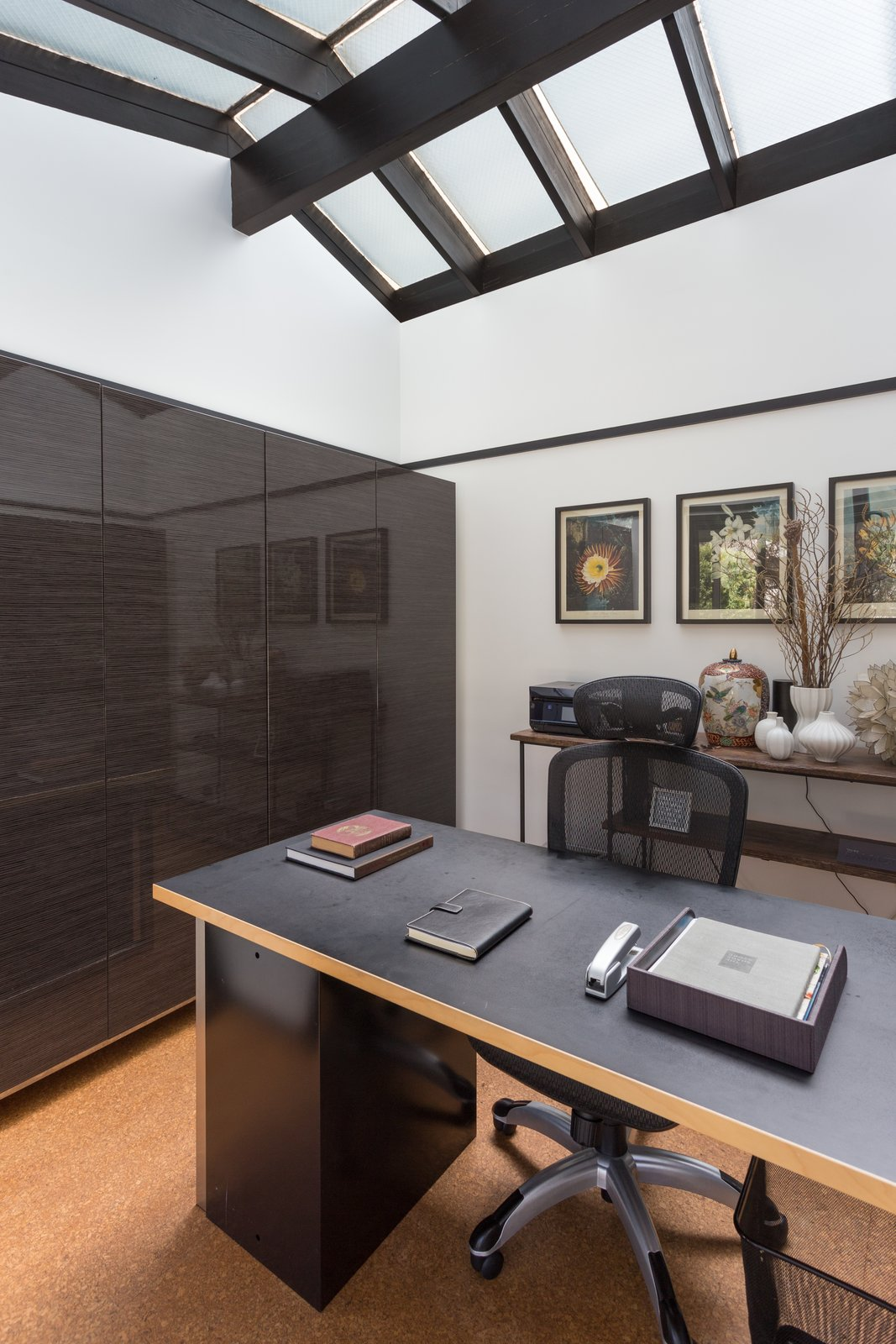 Tagged: Office, Den, Chair, and Desk.  Photo 10 of 14 in Offered at $899K, a Restored Midcentury Abode Shines in Southern California