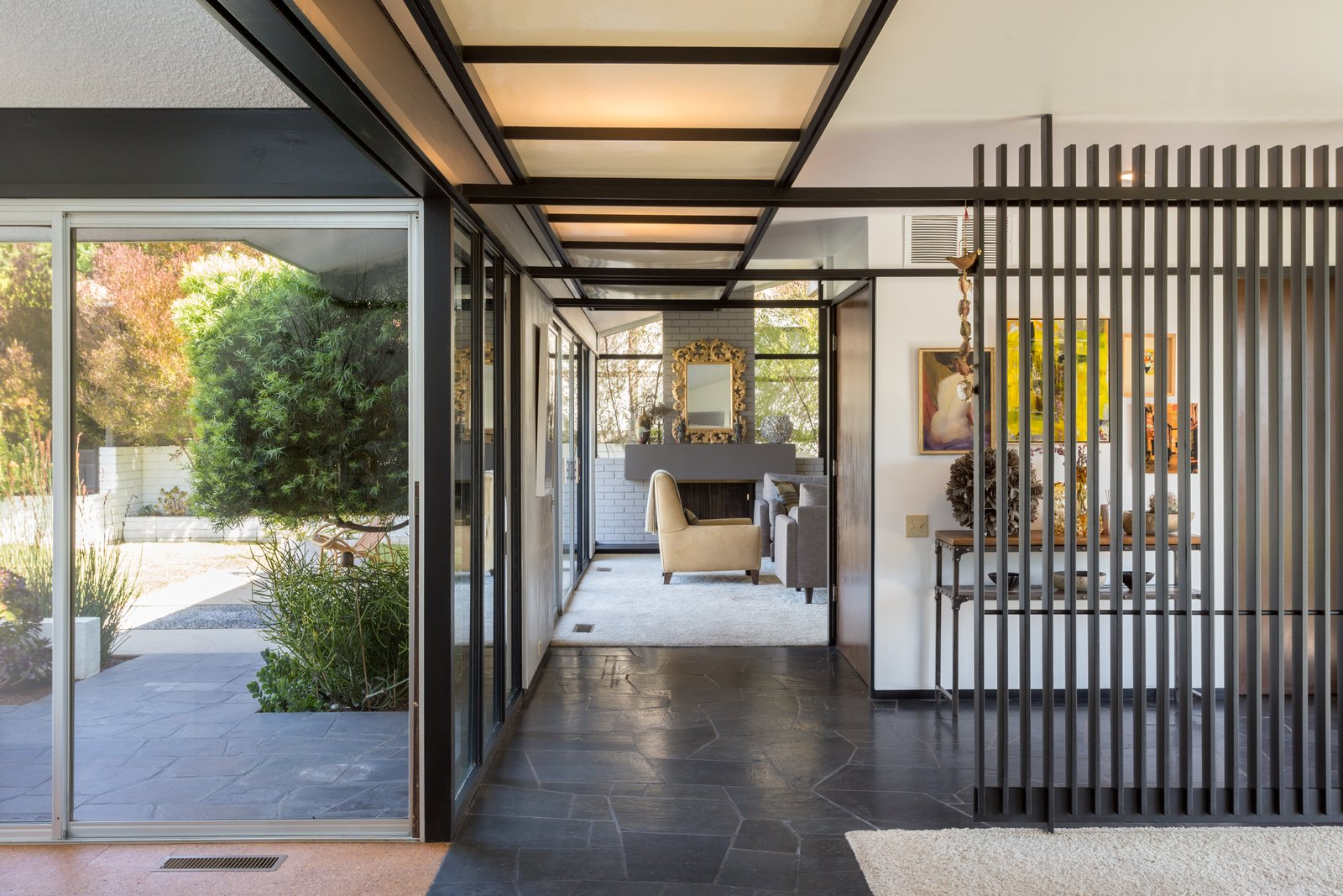 Tagged: Hallway.  Photo 3 of 14 in Offered at $899K, a Restored Midcentury Abode Shines in Southern California