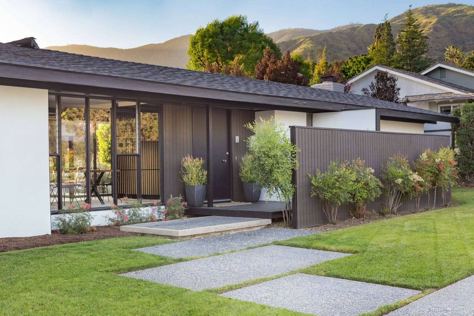 Tagged: Exterior, House, Shed RoofLine, and Shingles Roof Material.  Photo 11 of 14 in Offered at $899K, a Restored Midcentury Abode Shines in Southern California
