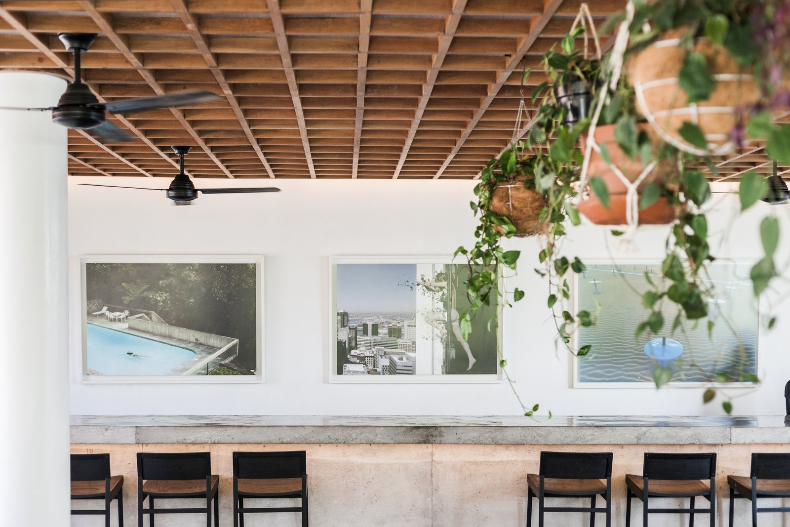 Tagged: Dining Room, Stools, and Bar.  Photo 7 of 12 in Go Beyond the Basics in an Australian Fashion Designer's Surf-Inspired Bali Hotel