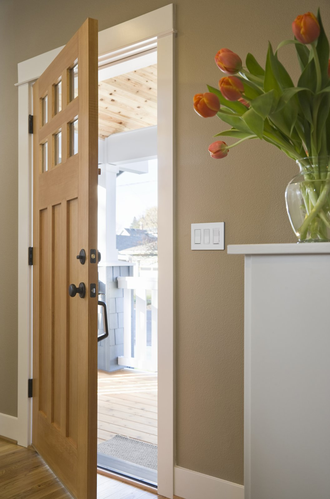 A veteran of the lighting control industry, Leviton's solutions include smart switches, smart dimmers, and regular nonintelligent devices to match them.  Photo 2 of 7 in 6 Ways Smart Lighting Can Help You Take Control of Your Home