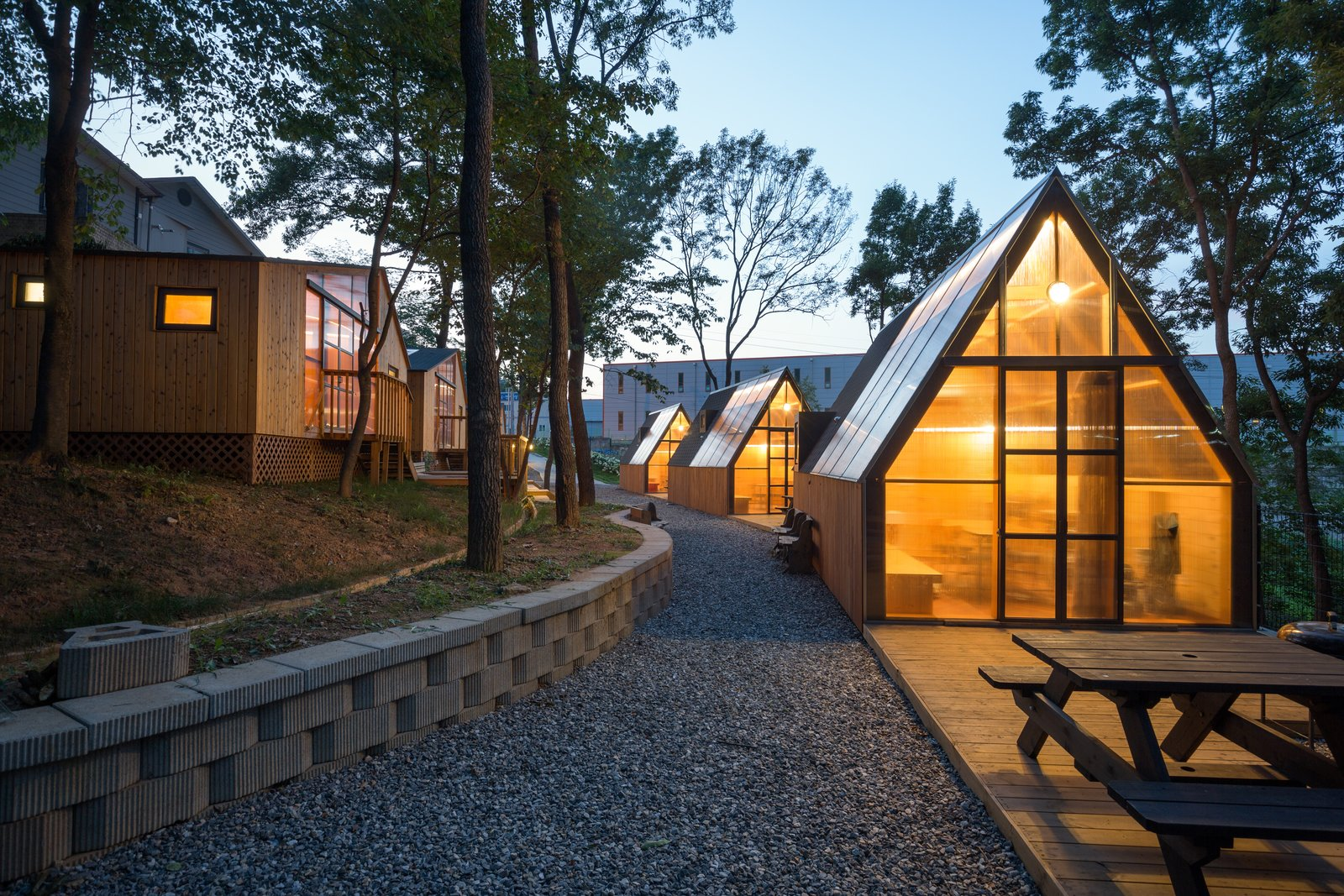 A Camping Village in South Korea Draws Inspiration From an Iconic Fairy Tale - Photo 3 of 11