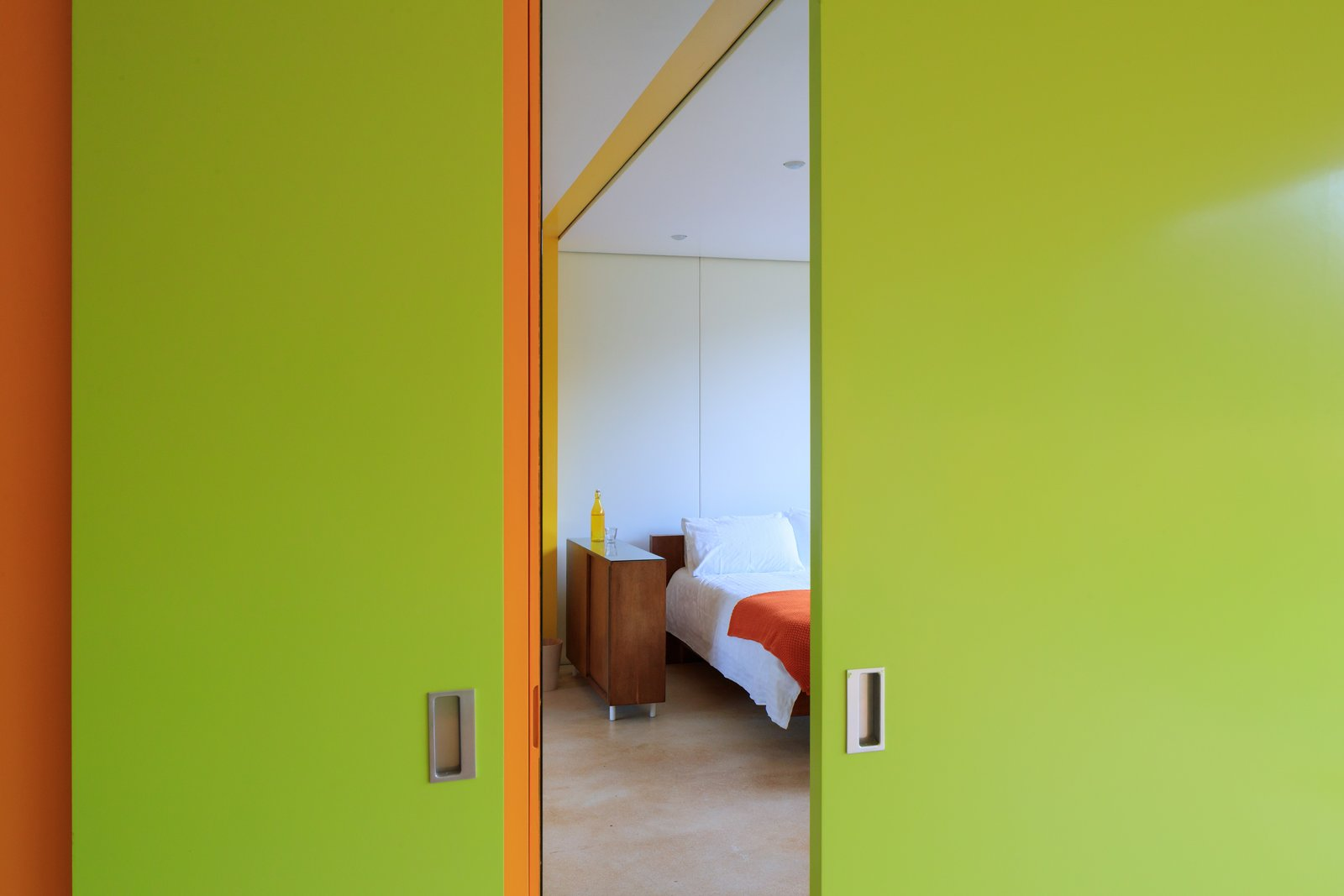 Tagged: Bedroom.  Photo 8 of 14 in Fully Renovated, Wimbledon House by Richard Rogers Hosts New Architecture Fellows in London