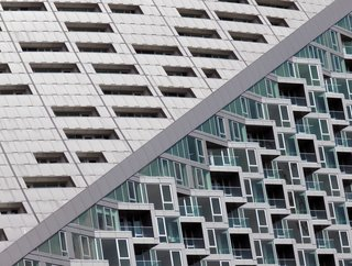 "Nikola Olic's Dizzying Architectural Photography - Photo 10 of 16 - The Diagonal: ""Two [facades] on the same side of a building on Manhattan's west side."""