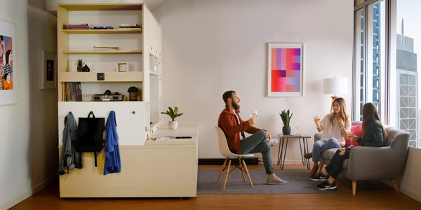 Ori by Yves Béhar Is the New Robotic Furniture System Poised to Transform Urban Living - Photo 1 of 4 -