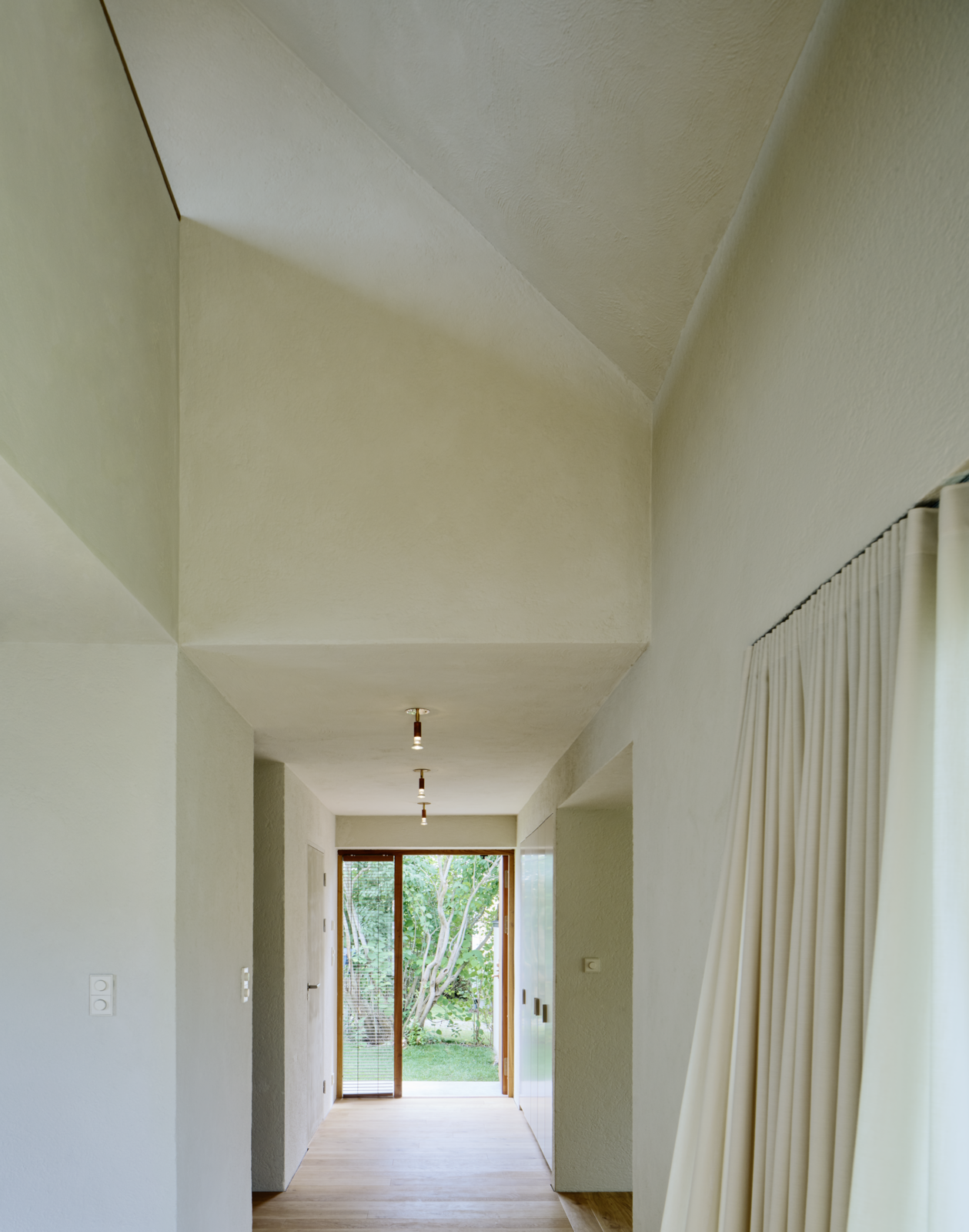 Tagged: Hallway and Medium Hardwood Floor. Sleek Scandinavian Design Permeates a Family's Summer House in an Old Fishing Village - Photo 5 of 12