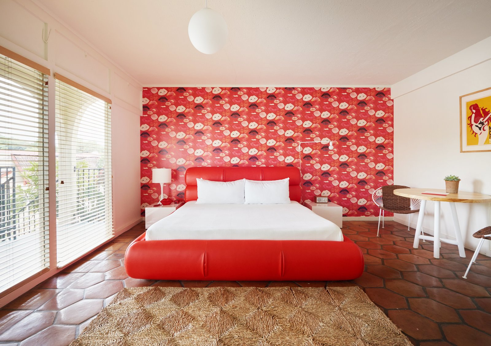 Photo 1 of 13 in The Rejuvenated Austin Motel Welcomes Guests With Upbeat, Midcentury-Modern Vibes