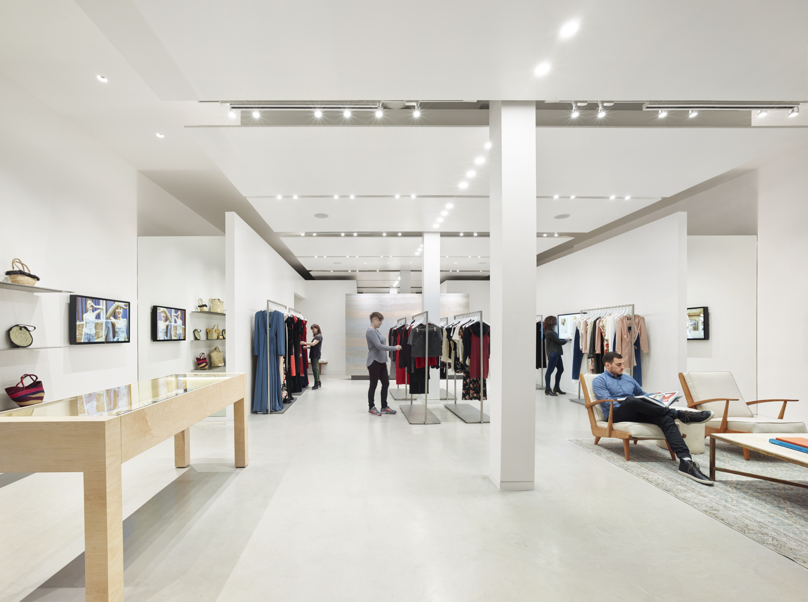 Photo 1 of 7 in Bohlin Cywinski Jackson Designs a Tech-Forward Retail Experience For Reformation