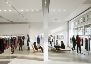 Bohlin Cywinski Jackson Designs a Tech-Forward Retail Experience For Reformation - Photo 1 of 6 -