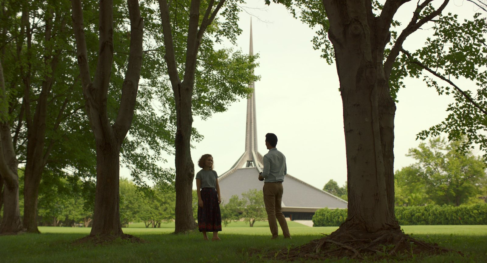 """Photo 1 of 8 in In the Indie Debut """"Columbus,"""" Midcentury Architecture Stars Beside John Cho"""
