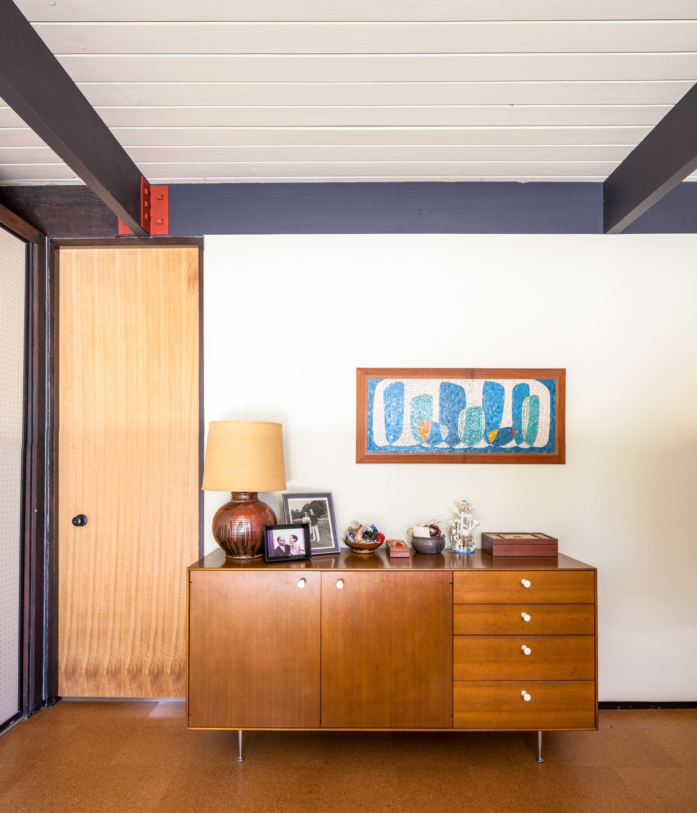 Tagged: Doors, Interior, and Swing Door Type.  Photo 4 of 10 in A Stunningly Restored Midcentury by Case Study Architect Craig Ellwood Asks $800K in San Diego