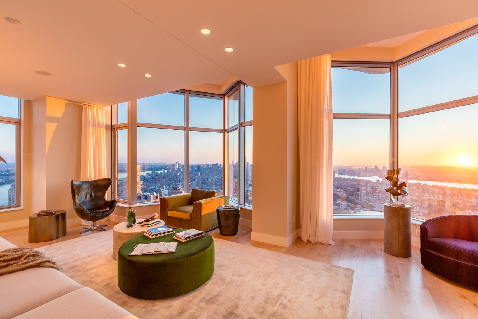 Photo 9 of 9 in Tour This Frank Gehry-Designed Penthouse in NYC That's Back on the Market