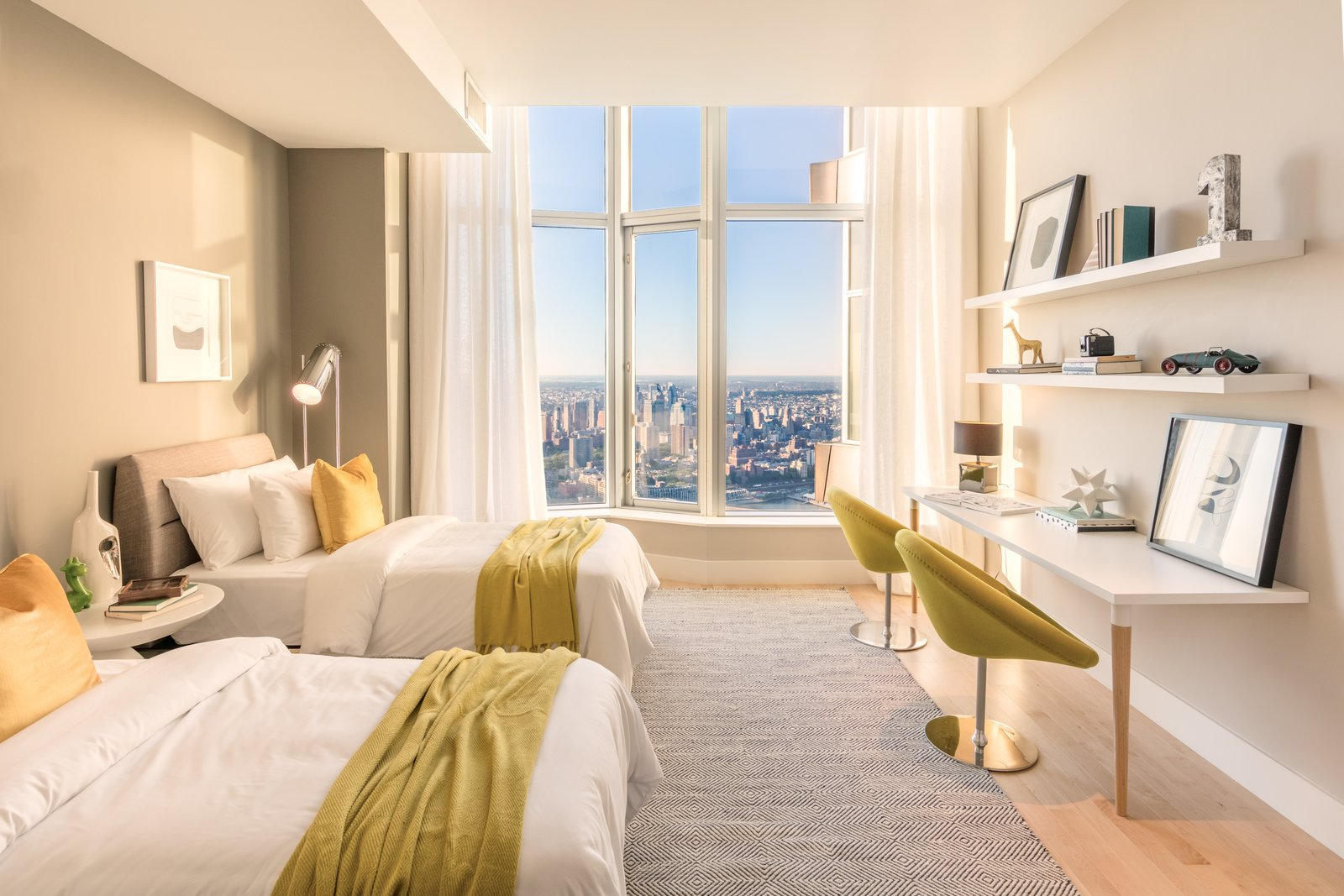 Photo 8 of 9 in Tour This Frank Gehry-Designed Penthouse in NYC That's Back on the Market