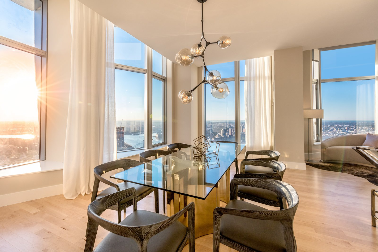 Photo 5 of 9 in Tour This Frank Gehry-Designed Penthouse in NYC That's Back on the Market