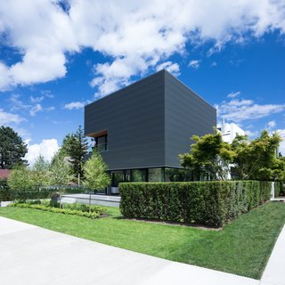 Wrapped in Galvanized Steel, 'Cube House' in Vancouver Asks $12.8M
