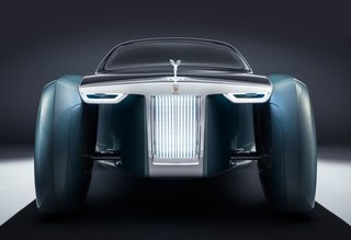 The Rolls-Royce 103EX Envisions the Brand's Next 100 Years - Photo 1 of 9 - The bold profile is the the work of Rolls-Royces Director of Design, Giles Taylor.