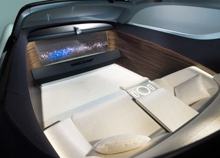 "The Rolls-Royce 103EX Envisions the Brand's Next 100 Years - Photo 7 of 9 - ""The interior space is designed to be a retreat from the world - evoking a feeling of privacy, warmth and ultimate relaxation."""