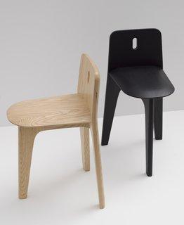 Furnishing Utopia By Hancock Shaker Village - Photo 17 of 25 - Stove Chair & Domino Coat Rack by Gabriel Tan