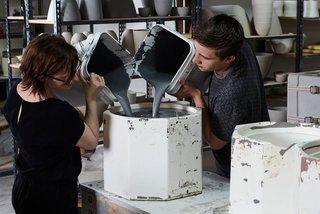 How Pigeon Toe's Hazel Pendants Are Made - Photo 1 of 24 -