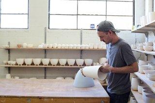 How Pigeon Toe's Hazel Pendants Are Made - Photo 9 of 24 -