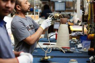 How Pigeon Toe's Hazel Pendants Are Made - Photo 23 of 24 -