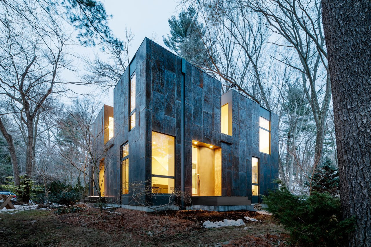 Photo 1 of 14 in Weather Steel Home By Merge Architects