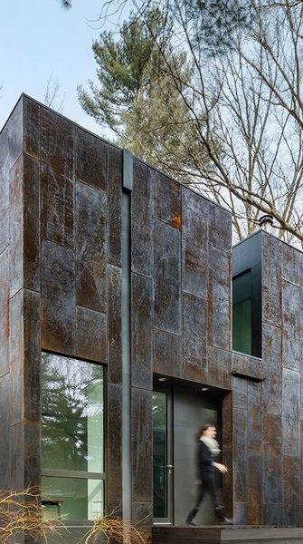 Weather Steel Home By Merge Architects - Photo 4 of 13 -