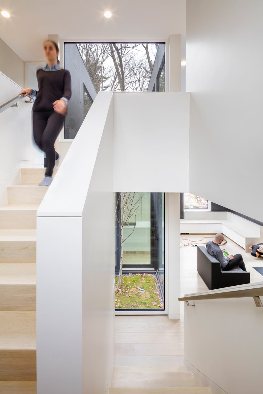 Photo 11 of 14 in Weather Steel Home By Merge Architects