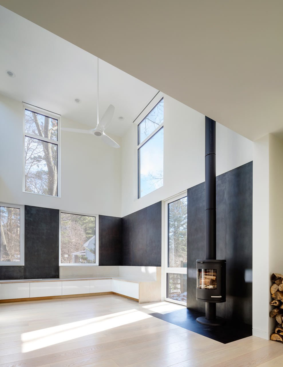 Photo 8 of 14 in Weather Steel Home By Merge Architects