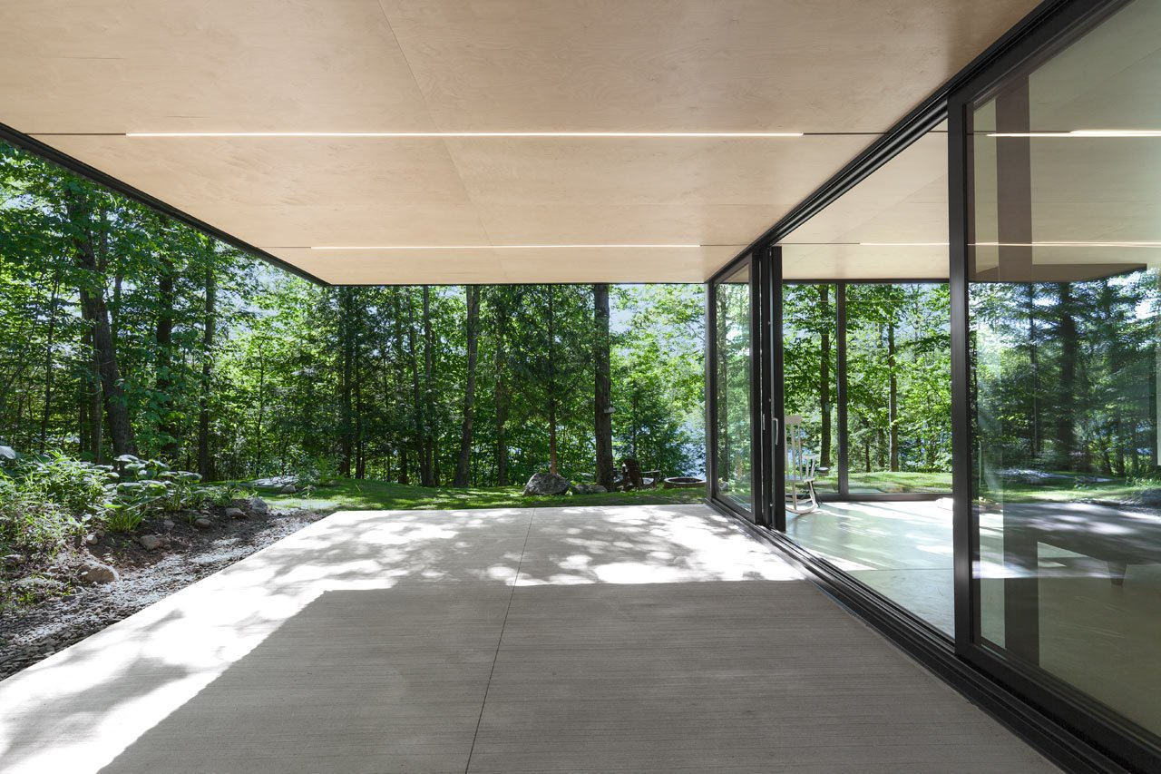 Photo 8 of 23 in FAHouse: A Double Triangular House in the Forest