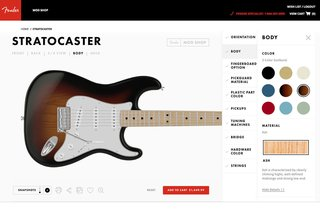 Fender's Mod Shop Lets You Build Your Own Modern Classic - Photo 1 of 18 -