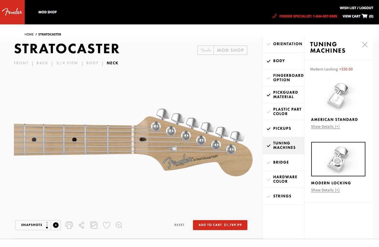Photo 5 of 19 in Fender's Mod Shop Lets You Build Your Own Modern Classic