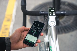 VOLATA: The App Controlled Bicycle - Photo 3 of 7 - Heart rate monitoring can be used in connection with an Apple Watch.