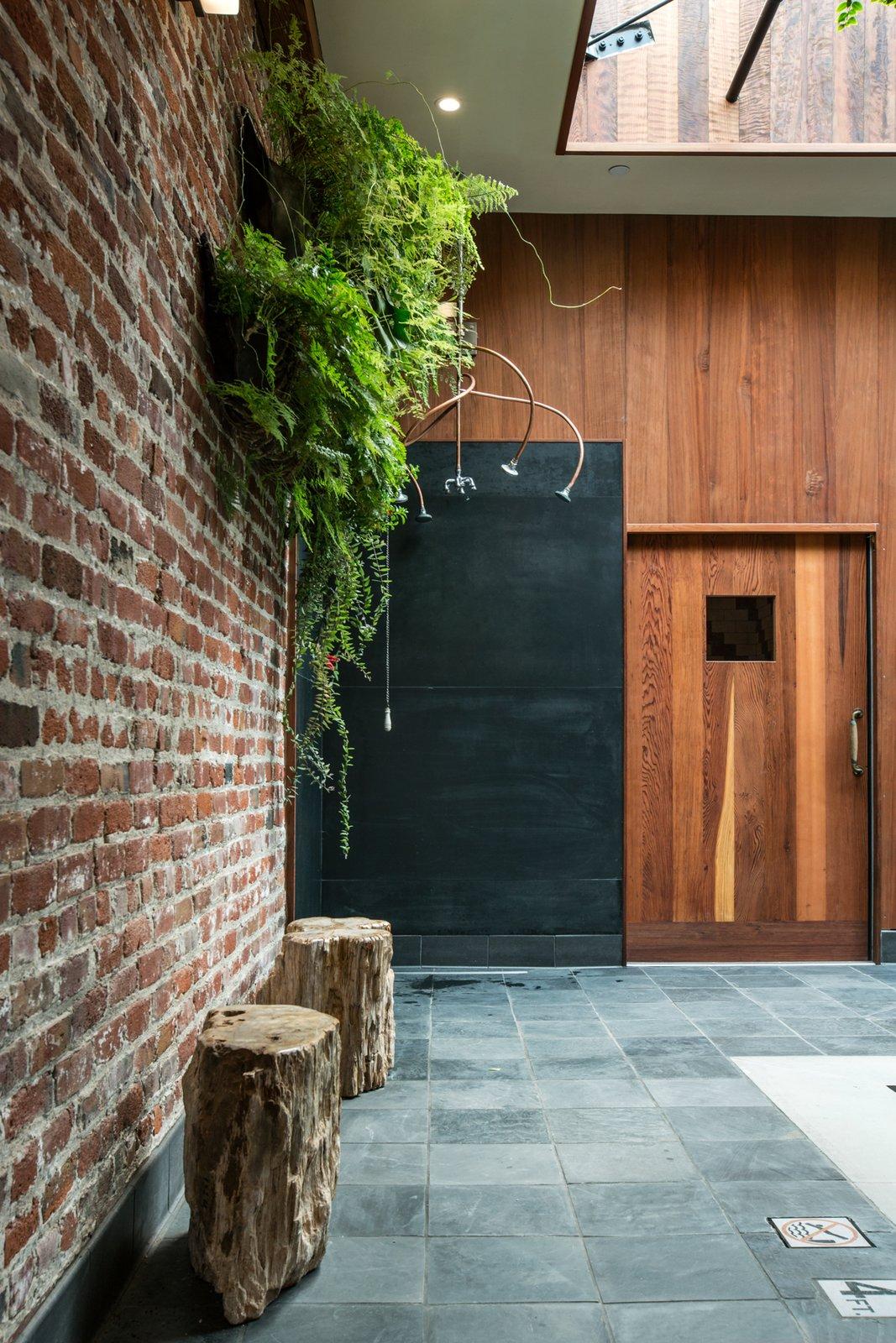 Photo 3 of 14 in Former Auto Body Shop Transformed Into Zen Bathhouse