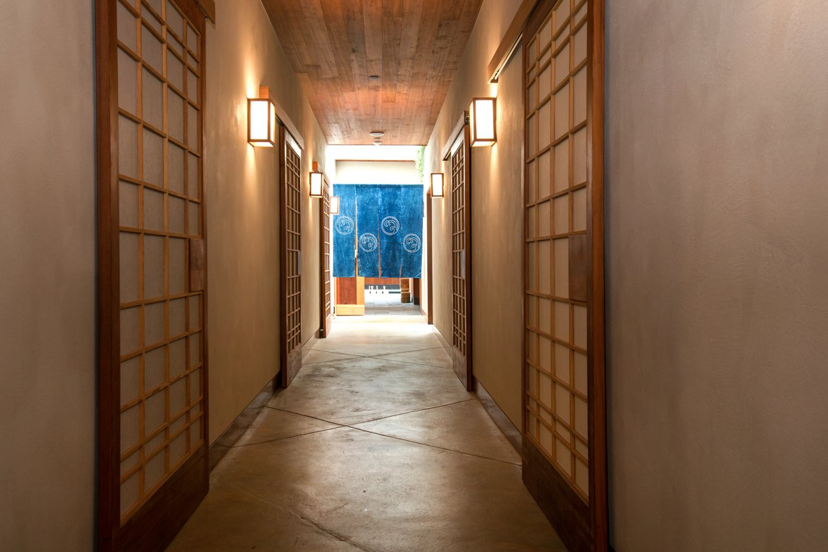 Photo 9 of 14 in Former Auto Body Shop Transformed Into Zen Bathhouse