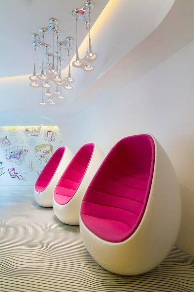 Photo 5 of 11 in Restored Bauhaus Building Gets the Karim Rashid Treatment in Tel Aviv