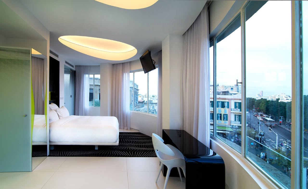 Photo 10 of 11 in Restored Bauhaus Building Gets the Karim Rashid Treatment in Tel Aviv