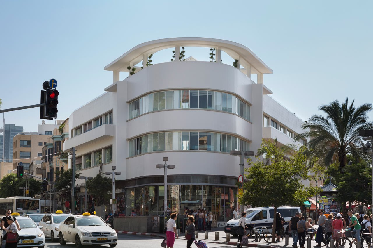 Photo 2 of 11 in Restored Bauhaus Building Gets the Karim Rashid Treatment in Tel Aviv
