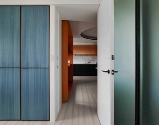 A Colorful Apartment Inspired by Paper Patterns Used in Fashion - Photo 16 of 19 -