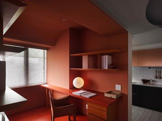 A Colorful Apartment Inspired by Paper Patterns Used in Fashion - Photo 1 of 19 -