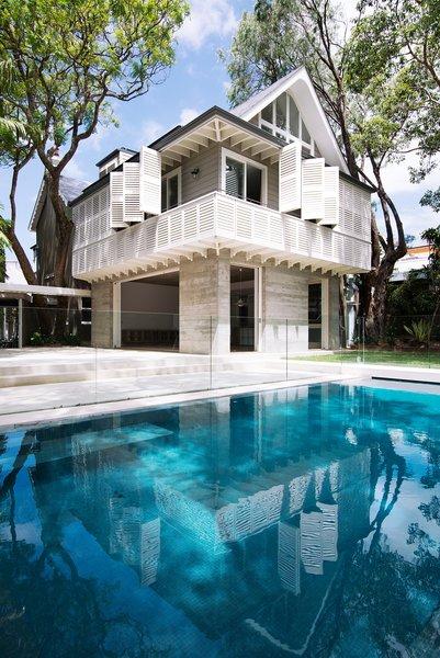 © Edward Birch Photo  of Loggia in Arcadia modern home
