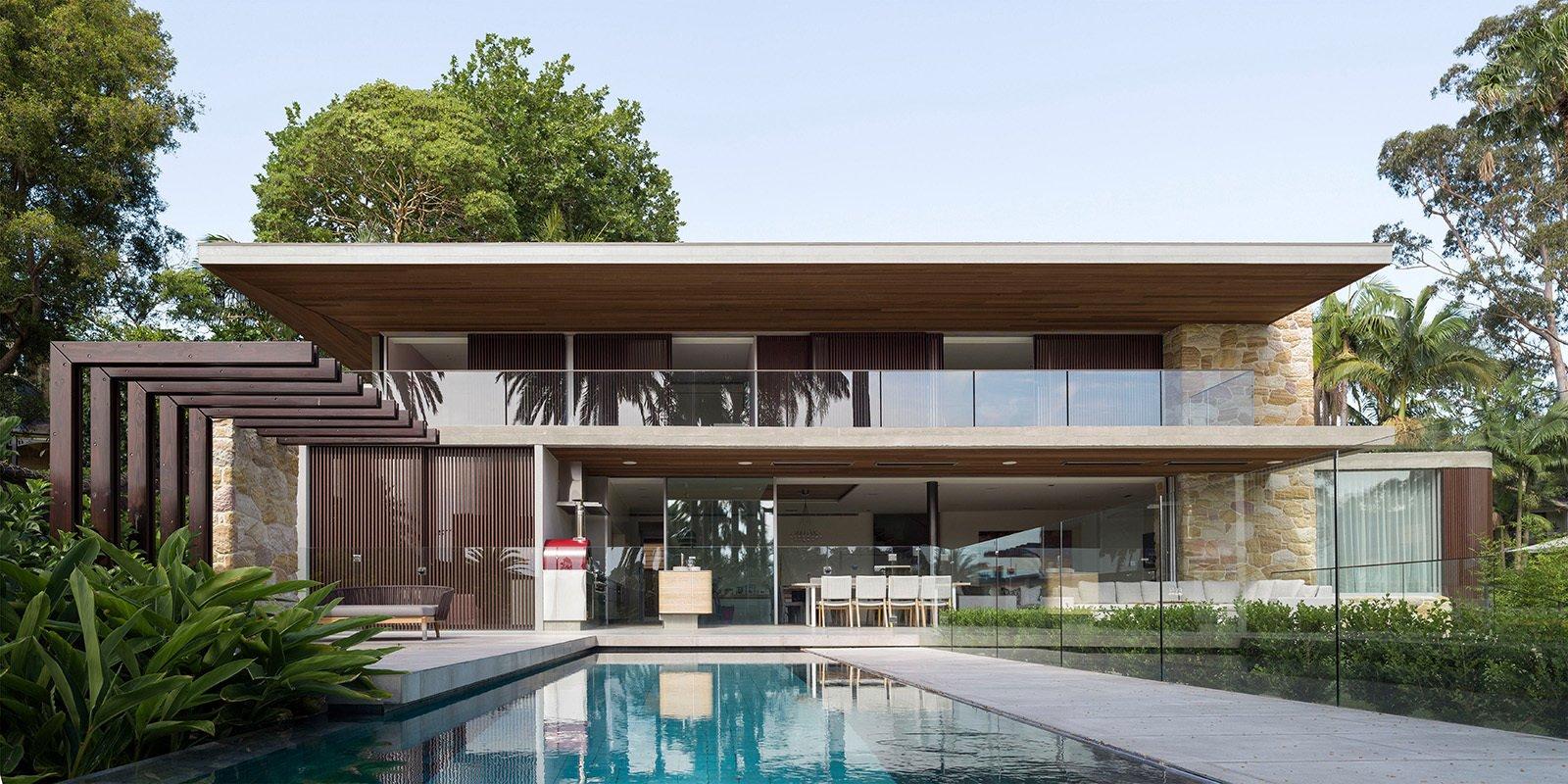 Sticks & Stones Home by Luigi Rosselli Architects